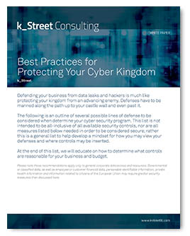 K_Street Best Practices for Security Awareness Guide